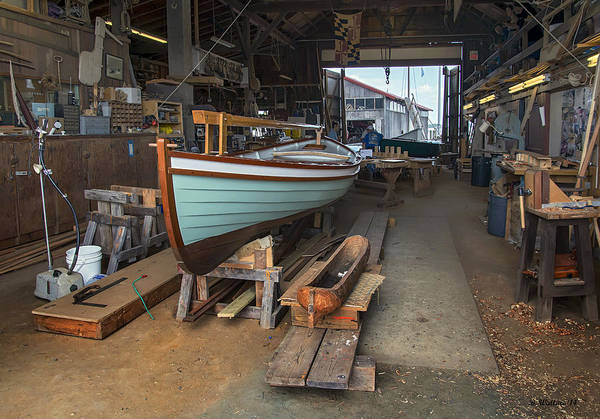 Wall Art - Photograph - Boat Shop by Brian Wallace