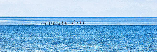 Photograph - Boat Tie - Ups - High Key - Chesapeake Bay by Paulette B Wright