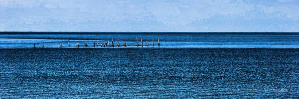 Photograph - Boat Tie - Ups - Low Key - Chesapeake Bay by Paulette B Wright