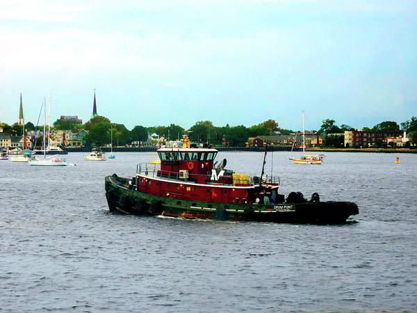 Photograph - Boat - Tugboat Norfolk Virginia by Susan Savad