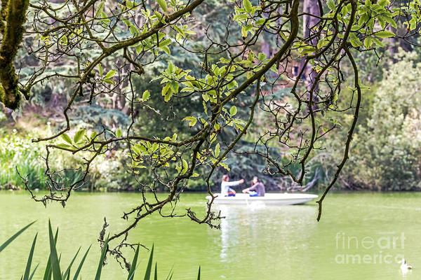 Photograph - Boaters On The Lake by Kate Brown
