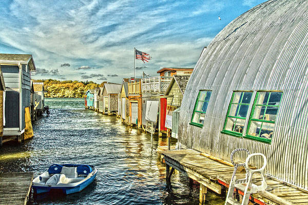Photograph - Boathouse Alley by William Norton