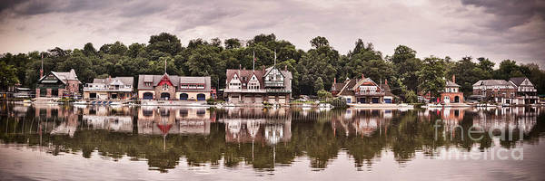 Wall Art - Photograph - Boathouse Row by Stacey Granger