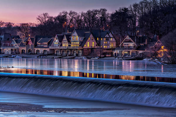 Photograph - Boathouse Row by Susan Candelario