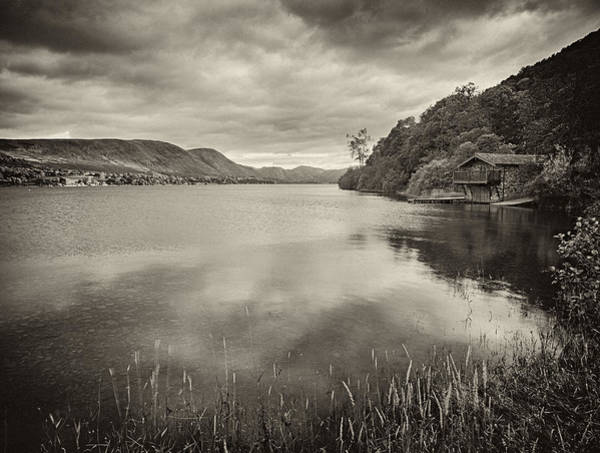 Pooley Bridge Wall Art - Photograph - Boathouse Ullswater by Graham Moore