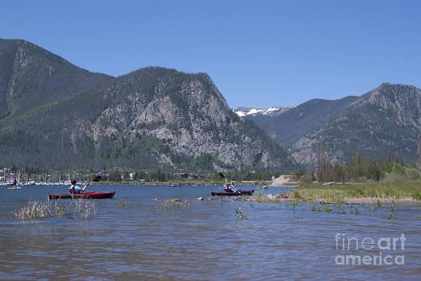 Photograph - Boating On Lake Dillon by Juli Scalzi