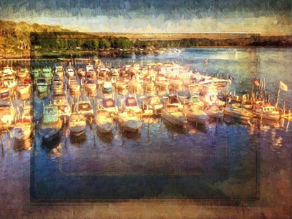 Photograph - Boats All Moored by Alice Gipson