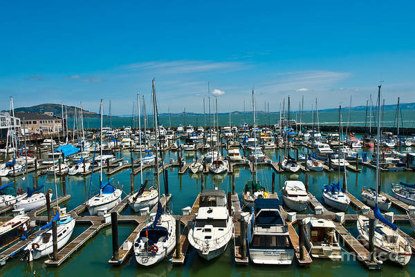 Photograph - Boats At Bay by Anthony Sacco