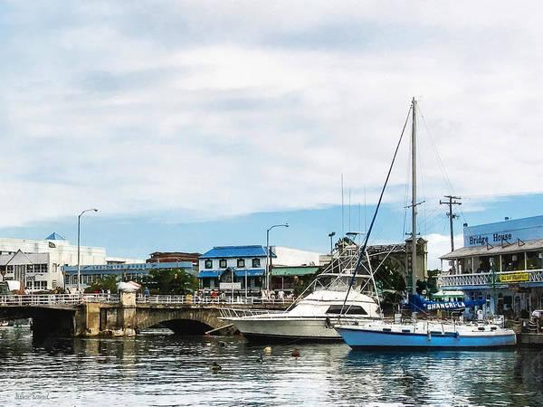 Photograph - Boats At Bridgetown Barbados by Susan Savad