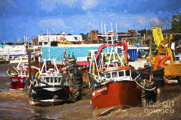 Leigh On Sea Photograph - Boats At Leigh On Sea by Sheila Smart Fine Art Photography