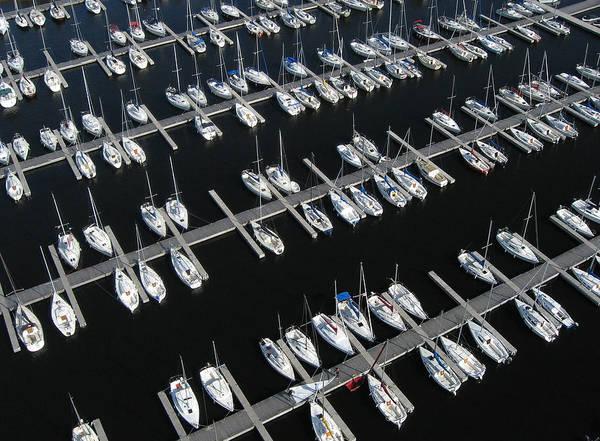 Photograph - Boats At Nepean Sailing Club by Rob Huntley