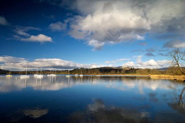 Photograph - Boats At Windermere by Stephen Taylor