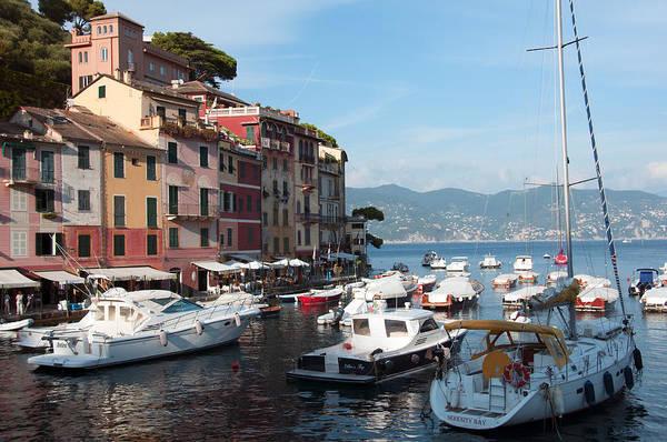 Photograph - Boats In An Italian Harbor by Matt Swinden