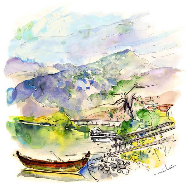 Painting - Boats In Barca De Alva 03 by Miki De Goodaboom