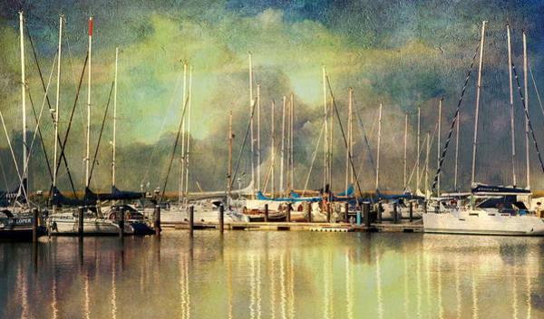 Photograph - Boats In Harbour by Annie Snel