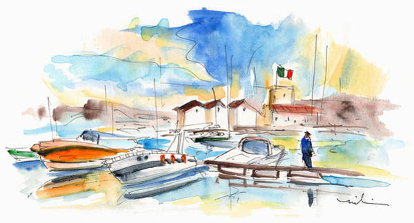Painting - Boats In Palermo by Miki De Goodaboom