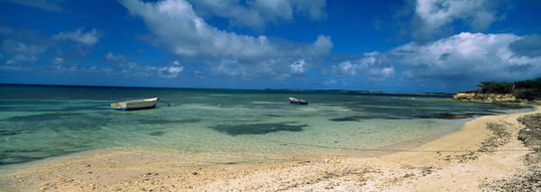 Sea Of Serenity Photograph - Boats In The Sea, North Coast by Panoramic Images