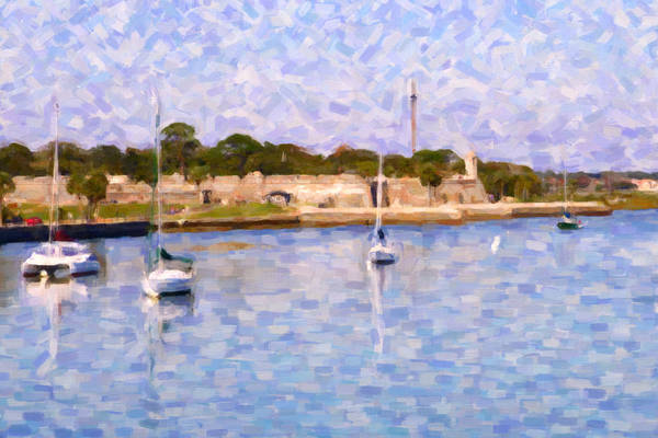 Photograph - Boats In The Water by Alice Gipson