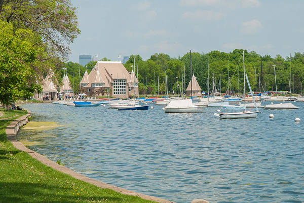 Wall Art - Photograph - Boats Of Lake Harriet by Near and Far Photography