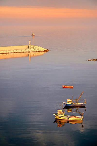 Photograph - Boats by Okan YILMAZ