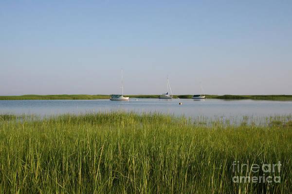 Encounter Bay Photograph - Boats On A Calm Bay.03 by John Turek