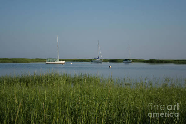 Encounter Bay Photograph - Boats On A Calm Bay.04 by John Turek
