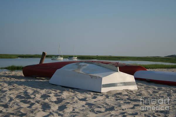 Encounter Bay Photograph - Boats On A Calm Bay.06 by John Turek