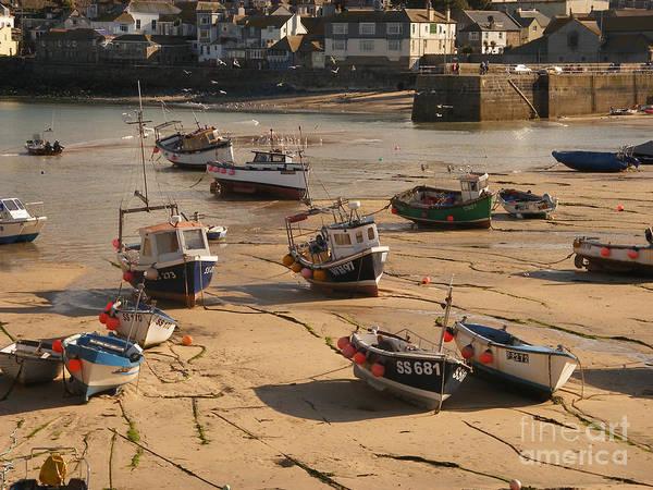 Pixel Photograph - Boats On Beach 03 by Pixel Chimp