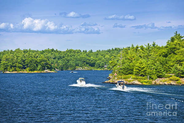Photograph - Boats On Georgian Bay by Elena Elisseeva