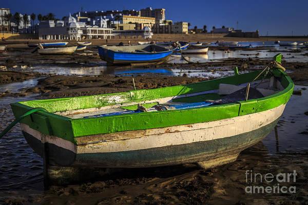 Photograph - Boats On La Caleta Cadiz Spain by Pablo Avanzini