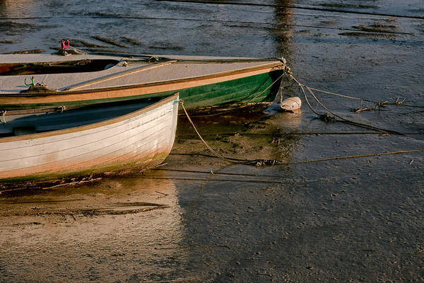 Photograph - Boats On Mud by Stephen Barrie