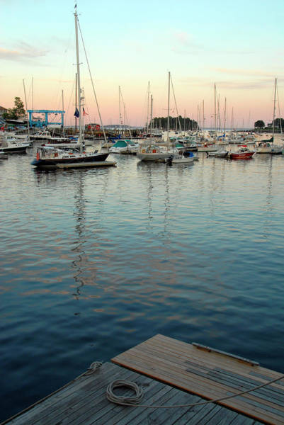 Camden Photograph - Boats On Penebscot Bay In Camden, Maine by Andrea Sperling
