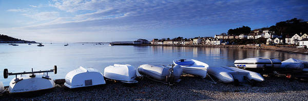 Kayaks Wall Art - Photograph - Boats On The Beach, Instow, North by Panoramic Images