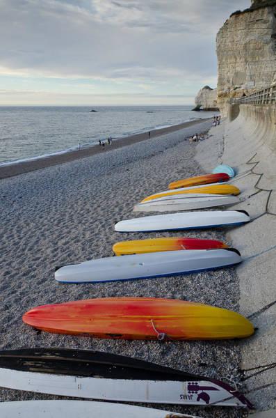 Photograph - Boats On The Beach by Paul Indigo