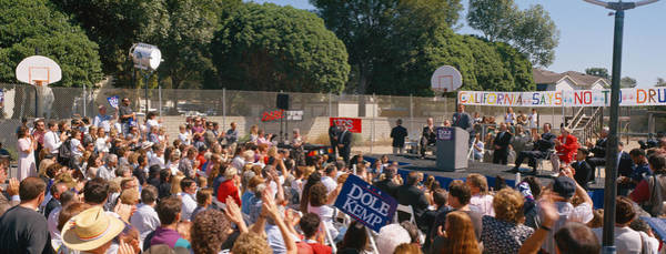 Member Of Congress Wall Art - Photograph - Bob Dole Presidential Campaign Speech by Panoramic Images