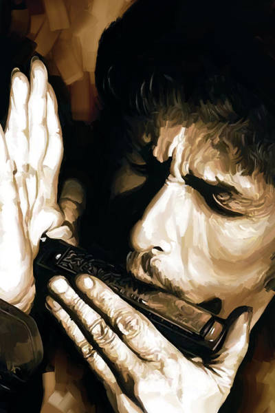 Wall Art - Painting - Bob Dylan Artwork 2 by Sheraz A