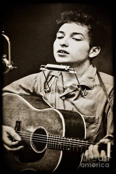 Photograph - Bob Dylan by Gary Keesler