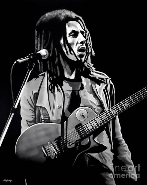 Hero Mixed Media - Bob Marley Tuff Gong by Meijering Manupix