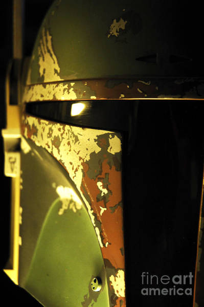 Wall Art - Photograph - Boba Fett Helmet 138 by Micah May