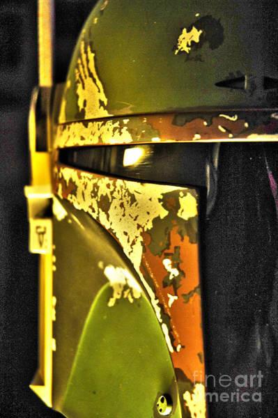 Wall Art - Photograph - Boba Fett Helmet 140 by Micah May