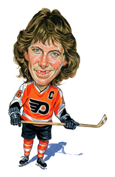 Laughter Wall Art - Painting - Bobby Clarke by Art
