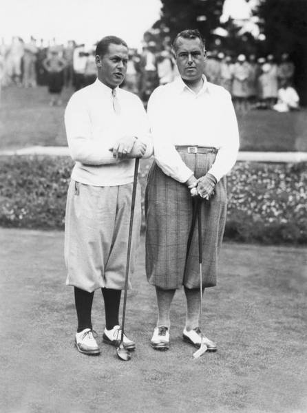 Pebble Beach Golf Course Photograph - Bobby Jones At Pebble Beach by Underwood Archives