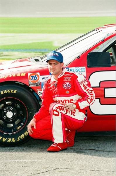 Busch Photograph - Bobby Labonte by Retro Images Archive