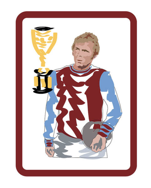 Wall Art - Digital Art - Bobby Moore by Andy Donald
