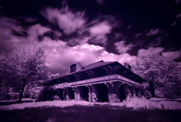 Wall Art - Photograph - Boblo Roller Rink - Infrared by Cale Best