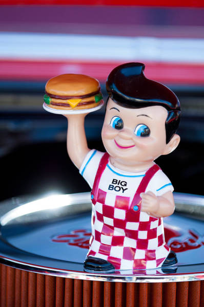 Big Boy Photograph - Bob's Big Boy Doll by Jill Reger