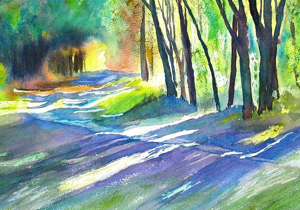 Painting - Bobs Road by Peter Senesac