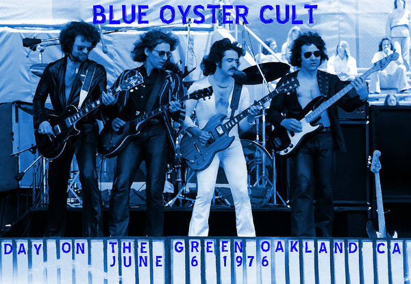 Photograph - Boc #103 In Blue With Text by Ben Upham