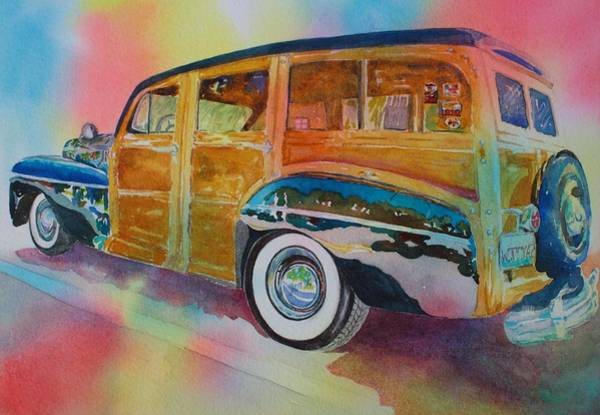 Painting - Boca Classic 42 Woody by Tara Moorman