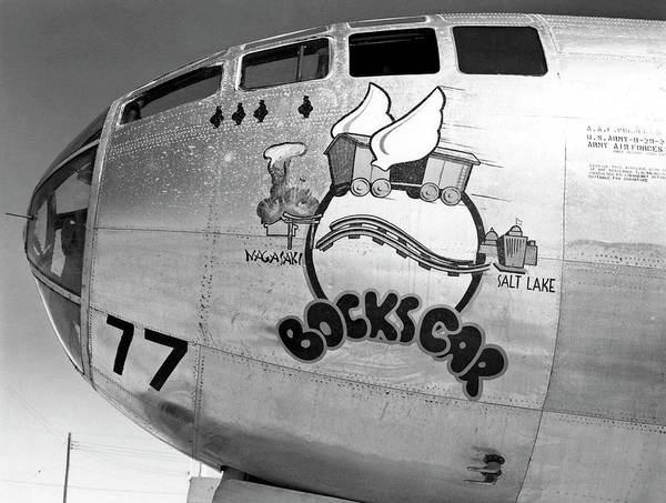 Nuclear Bomber Wall Art - Photograph - Bockscar Boeing B-29 Aircraft by Us Air Force/science Photo Library